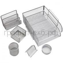 Набор настольный Berlingo Steel&Style 7 предметов металл серебристый BMs_41701