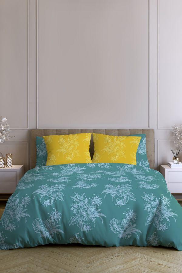 Поплин 2-х спальный с евро [в ассортименте] Парадиз постельное белье