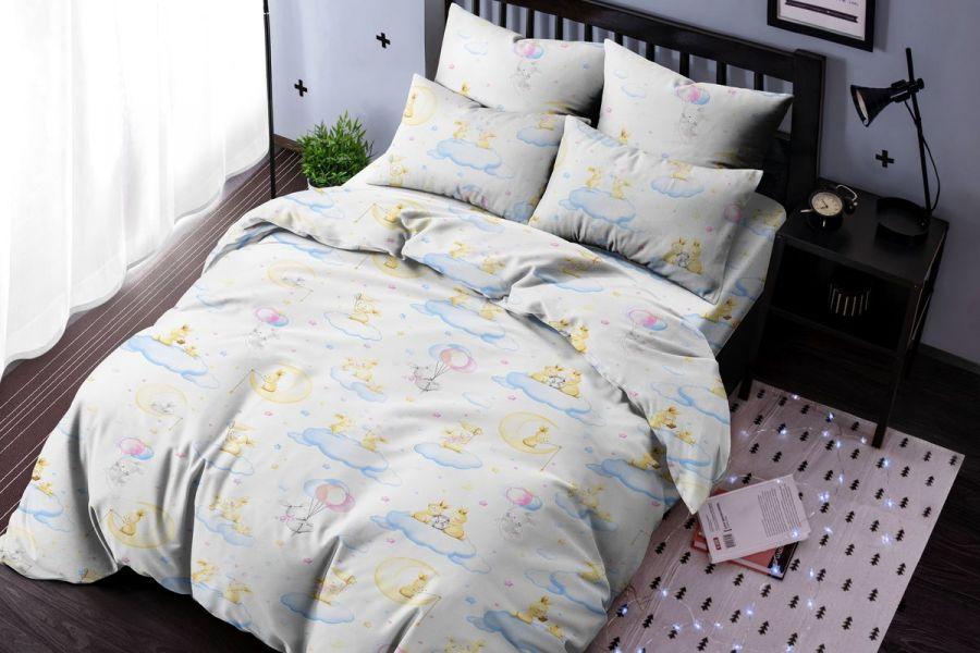 Бязь 1.5 спальный [в ассортименте] Топотун постельное белье [распродажа]