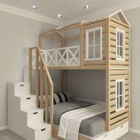 Кровать двухъярусная, Кровать-домик Felicia