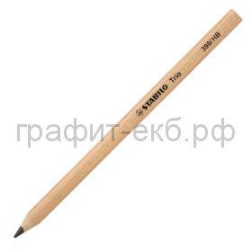 Карандаш ч/г Stabilo TRIO утолщенный 398/HB