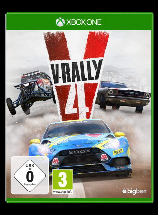 Игра V-Rally 4 (Xbox One)