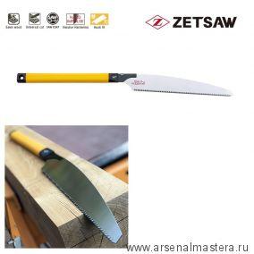 Акция! Минус 15% Пила японская плотницкая Kataba Kariwaku 333 мм 9TPI шаг 2.8 мм пиление по диагонали, сырой древесины ZetSaw 15014