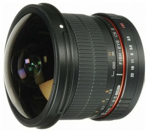 Samyang 8mm f/3.5 AS IF UMC Fish-eye CS II AE Nikon F