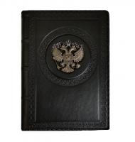 Ежедневник А5 «Империя 4» Черный