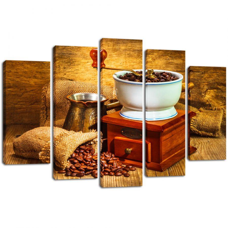 Модульная картина Кофе 12
