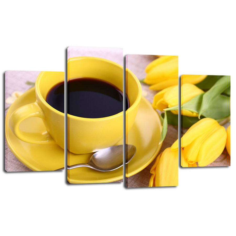 Модульная картина Кофе 27