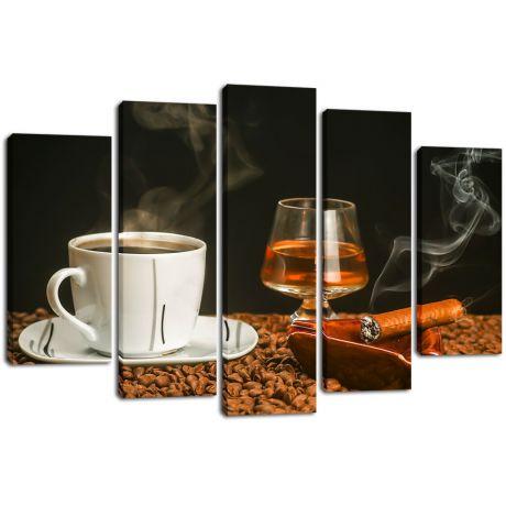 Модульная картина Кофе 16