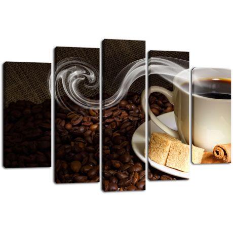 Модульная картина Кофе 17
