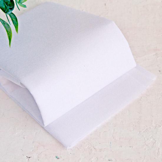 Дублерин тканый сплошной  55 см. х 50 см.