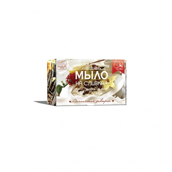 Крымское натуральное мыло Английский Завтрак Крымская Линия 82 гр