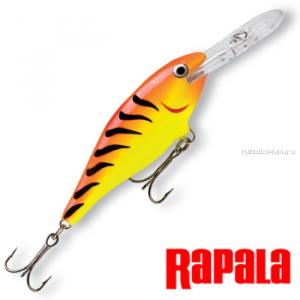 Воблер Rapala Shad Rap 50мм / 6 гр / Заглубление: 1,2 - 2,7 м / цвет:  SR05-HT