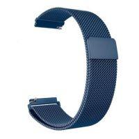 Миланская петля ремешок для Amazfit Bip 20мм (синий)