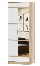 Шкаф Сакура 2-х створчатый с зеркалом