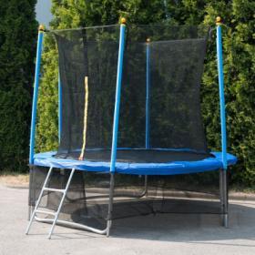 """Батут """"Winner Classic"""" (8 футов / 244 см, верхняя + нижняя защитные сетки и лестница в комплекте) 54.100.08.0"""