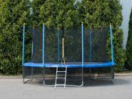 """Батут """"Winner Classic"""" (14 футов / 424 см, верхняя + нижняя защитные сетки и лестница в комплекте) 54.100.14.0"""
