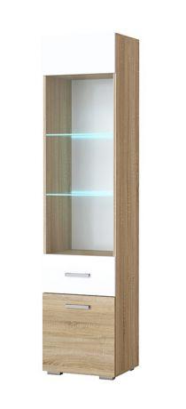 Шкаф-пенал Элиза (витрина)
