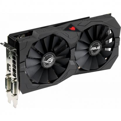 Видеокарта Asus ROG STIX Radeon RX 580 O8G GAMING