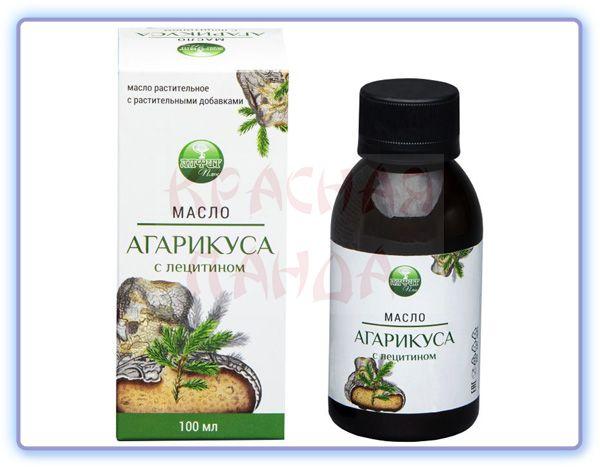 Масло Агарикуса с лецитином Алфит Плюс