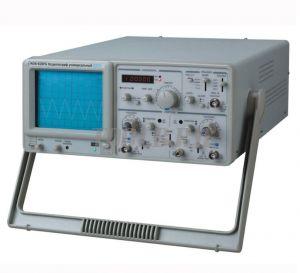 MOS-620FG Осциллограф универсальный 20 МГц с частотомером