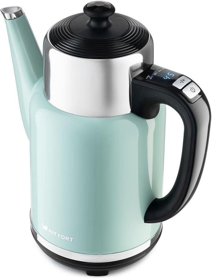 Чайник KitFort КТ-668-3 (зеленый) (НОВИНКА)