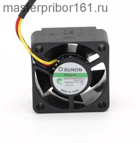 Вентилятор охлаждения SUNON   GM2404PKVX-A  24V 1.7W 40х40х20