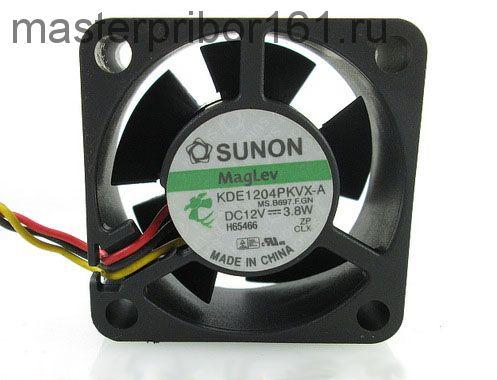 Вентилятор охлаждения SUNON   KDE1204PKVX-A 12V 3.8W 40х40х20