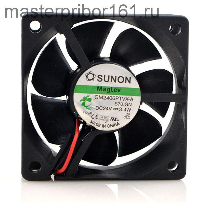 Вентилятор охлаждения SUNON   GM2406PTVX-A  24V 3.4W 60х60х25