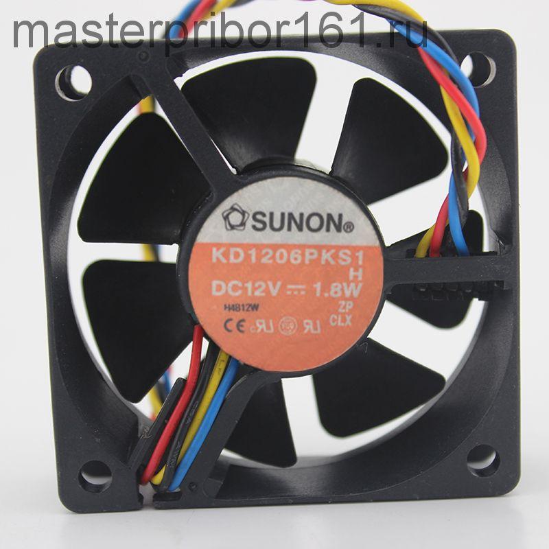 Вентилятор охлаждения SUNON   KD1206PKS1  12V 1.8W 60х60х20