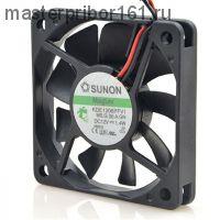 Вентилятор охлаждения SUNON   KDE1206PFV1 12V 1.4W 60х60х10