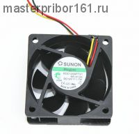 Вентилятор охлаждения SUNON   KDE1206PTV1 12V 1.7W 60х60х25
