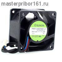 Вентилятор охлаждения SUNON   PMD1206PMB1-A  12V 11.2W 60х60х38