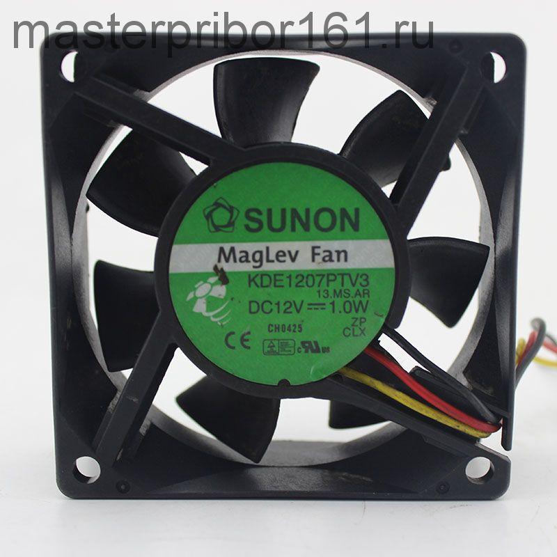 Вентилятор охлаждения SUNON    KDE1207PTV3  12V 1.0W 70х70х25