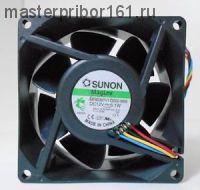 Вентилятор охлаждения SUNON  MF80381V1-D000-M99 12V  6.1W 80х80х38