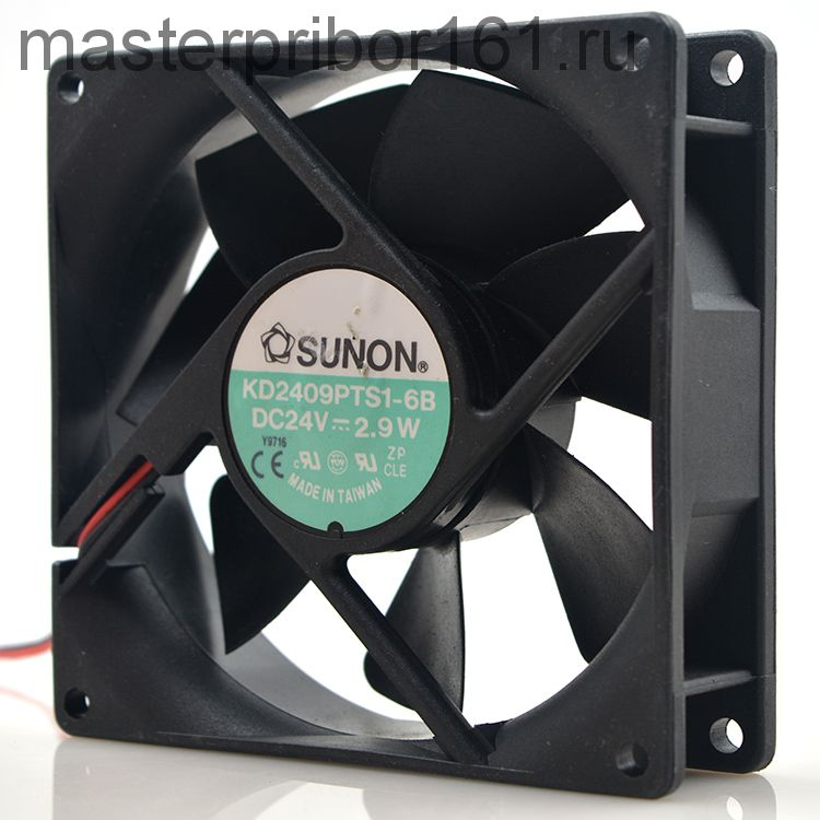 Вентилятор охлаждения SUNON   KD2409PTS1-6B 24V 2.9W 90х90х25