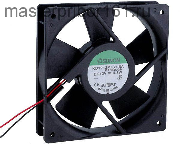 Вентилятор охлаждения SUNON KD1212PTS1-6A 12V 4.8W 120х120х25