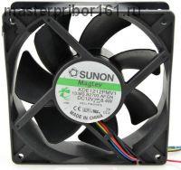 Вентилятор охлаждения SUNON KDE1212PMV1 12V 8.4W 120х120х38