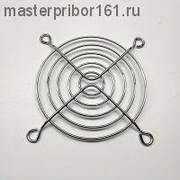 Решетка для вентилятора 80х80мм, металлическая