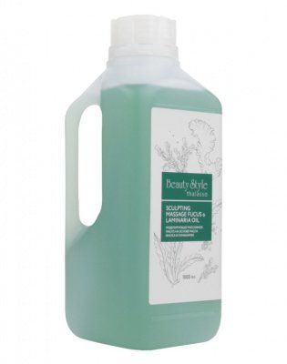Моделирующее массажное масло на основе масла фукуса и ламинарии Thalasso Beauty Style (Бьюти Стайл) 1000 мл