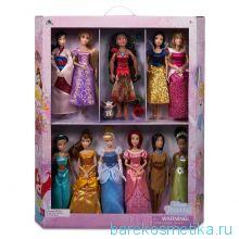 Набор из 11 кукол все принцессы дисней