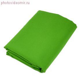 Аренда Фон 3х3 метра зеленый/хромакей