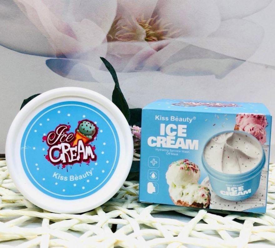 Маска для лица Kiss Beauty Ice Cream, 100 гр (WE1500)