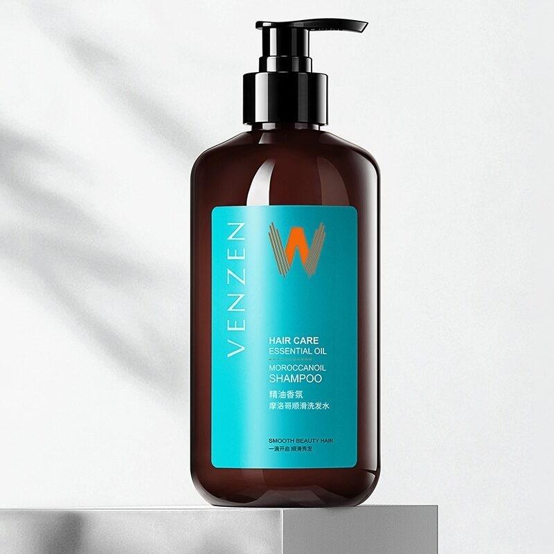 Шампунь с аргановым маслом VENZEN Hair Care Essential Oil Moroccanoil Shampoo, 480 мл (Г250)