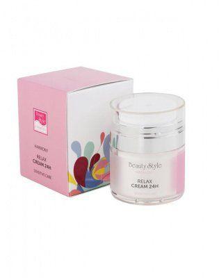 Крем Релакс 24 для чувствительной кожи с гиалуроновой кислотой Harmony Beauty Style (Бьюти Стайл) 30 мл
