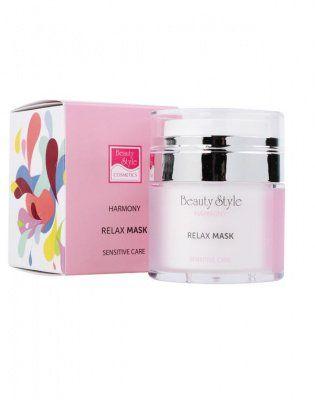 Маска Релакс для чувств кожи с маслом Ши и гиалуроновой кислотой Harmony Beauty Style (Бьюти Стайл) 50 мл