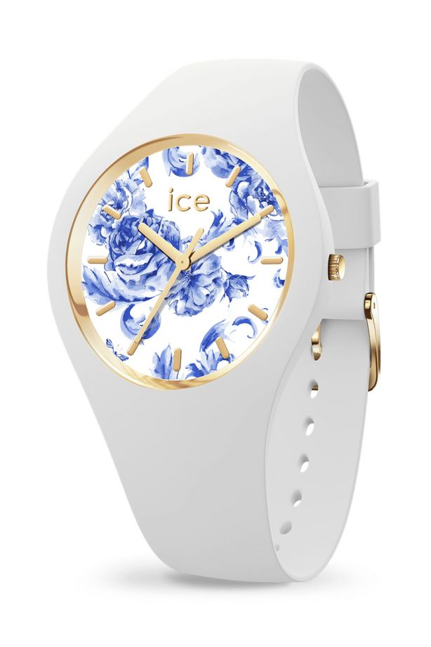 Ice FLOWER - White porcelain
