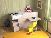 Кровать-чердак Кузя-4