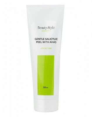 Салициловый пилинг-скатка с AHA кислотами для жирной кожи UNIMATT + Beauty Style (Бьюти Стайл) 250 мл