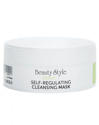 Себорегулирующая очищающая маска для жирной и смешанной кожи UNIMATT + Beauty Style (Бьюти Стайл) 50 мл