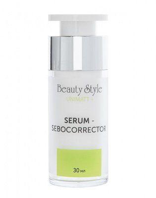 Сыворотка - себокорректор для сужения пор для жирной и смешанной кожи UNIMATT +  Beauty Style (Бьюти Стайл) 30 мл